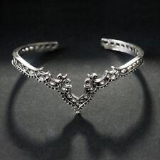 Vintage Boho Cuff Bracelet Bangle Gold Plated Wristband Women Punk Jewelry