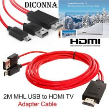 MHL Micro-USB to HDMI 1080P HD TV Cell Phone Cable Adapter For Samsung Android