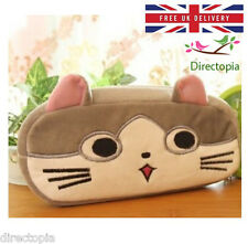Plush Cat Pencil Case Cosmetic Bag Kawaii Kitty Anime Japan Chi's Sweet Home