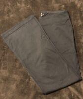Women's Talbots Yoga Athletic Pants Workout Black Stretch Size M A1