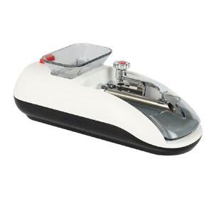 New Edge Design Electronic Tobacco Cigarette Roller Rolling Machine White Kj