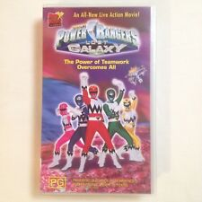 Power Rangers Lost Galaxy: The Power Of Teamwork Overcomes All. VHS Video Tape
