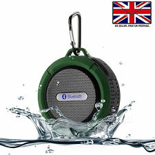 BLUETOOTH WATERPROOF WIRELESS TRAVEL SPEAKER WITH MIC For Samsung Galaxy A7 2018