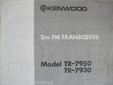 KENWOOD tr-7950 / 7930 (manuale originale solo)............ radio_trader_ireland.