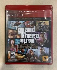 Grand Theft Auto Episodes From Liberty City Ps3 Playstation 3 Factory Sealed