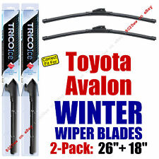 WINTER Wipers 2-Pack Premium Grade - fit 2013-2016 Toyota Avalon - 35260/180