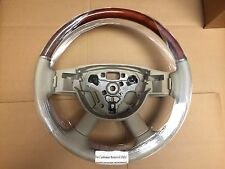 NEW OEM 2008-10 Jeep Grand Cherokee Overland Commander Wood Trim Steering Wheel