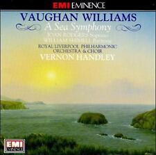 Vaughan Williams: A Sea Symphony (CD, EMI Import) Handley, Royal Liverpool