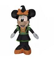 NIB Disney Minnie Mouse Halloween Air blown Inflatable - 3.5 Ft
