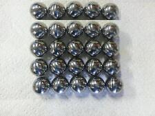 "25 1-1/16"" Mirror Finish Carbon Steel OEM Pinballs (25 Balls) FRESH STOCK! New!"