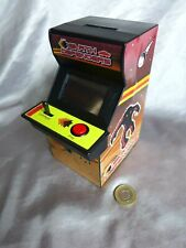 Retro arcade computer game style money box Earth Defenders electronic Paladone