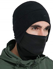 Helmet Liner Skull Cap Beanie with Ear Covers - Ultimate Thermal Retention and &