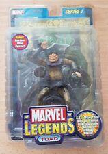 Toad Marvel Legends Series 1 Hot! NIB 2002 Gold Poster X-Men