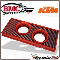 FILTRO DE AIRE DEPORTIVO LAVABLE BMC FM493/20 KTM 990 LC8 ADVENTURE S 2009