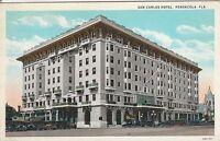 LAM(C) Pensacola, FL - San Carlos Hotel - Exterior - Corner View - Street View