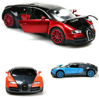 Alloy Diecast Car Model 1:32 Bugatti Veyron Collection Gift with Light and Sound