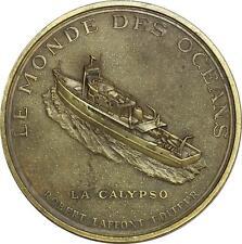 O6414 Médaille Jacques Cousteau Océans Calypso SUP