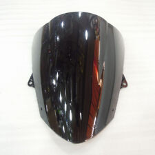 Black Screen Double bubble For 2008-2010 Kawasaki Ninja ZX10R ZX-10R Windshield