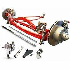 RHD Universal 47 3/4 Super Deluxe Hair Pin Drilled Solid Axle Kit hotrod
