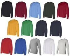 Gildan Heavy Cotton Long Sleeve T Shirt Blank Casual Plain Tee Sport 5400 s-2xl