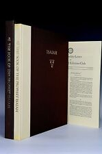 Limited Editions Club Book of Prophet Isaiah King James Illustrated Signed Rare