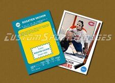Rogie Vachon - Montreal Canadiens - Custom Hockey Card  - 1968-69