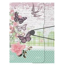 Gummizugmappe PP A4 Ladylike Butterfly von Herlitz