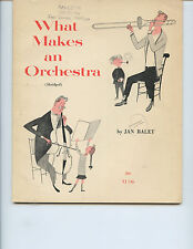 """""""WHAT MAKES AN ORCHESTRA"""" BOOK OWNED BY MSU LEGENDARY DIRECTOR LEONARD FALCONE"""