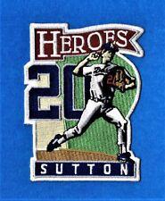 DON SUTTON HEROES LA DODGERS AUTHENTIC MLB PATCH