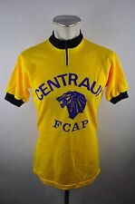 70s/80s vintage Cycling Jersey talla M-L rueda camiseta centraux fcap