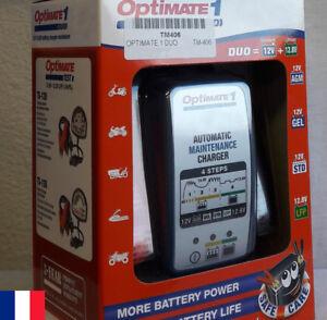 Optimate 1 Duo Chargeur de batterie 12 V TecMate  - Tec Mate - moto auto quad