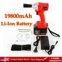 "Cordless Lithium-Ion 1/2"" High Torque Impact Wrench Brushless Impact Wrench Gun"