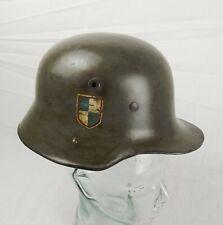 Post - WW1 Single Decal Stahlhelm German Helmet