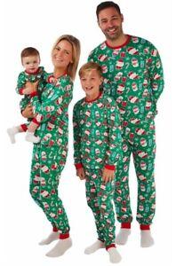 Ex UK STORE Christmas Matching AdultS Pyjamas Nightwear Pajamas PJs Set Festive