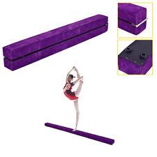 7' Sectional Gymnastics Floor Balance Beam Skill Performance Training Folding
