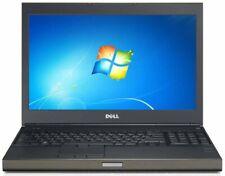 """DELL PRECISION M4700 15.6"""" INTEL CORE i7-3rd GEN 16GB RAM 256GB SSD LAPTOP HDMI"""
