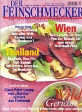 Der Feinschmecker Nr. 12/2002 Wien Restaurants im Test: Von der Klassik bis zum