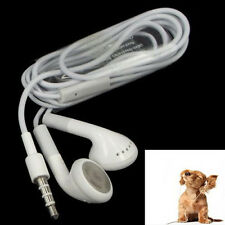 3.5mm In-Ear Headset Headphone Earbuds Earphone for Phone Universal White