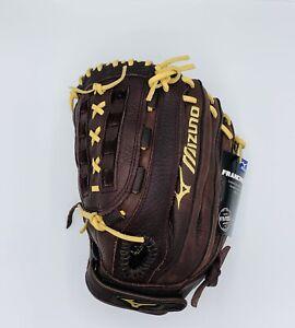 "NWT Mizuno Franchise Slowpitch Softball Glove 12.5"" GFN 1250S1 Left Hand Thrower"