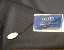 Super 150's striped suiting fabric tessuto rigato FINTES