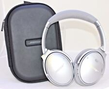 Bose QuietComfort 35 QC35  Headband Wireless Headphones with case - Silver BB-4A