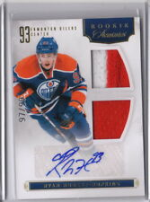 11/12 Rookie Anthology Rookie Treasures Auto #103 Ryan Nugent-Hopkins Oilers /99