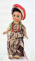 Madame Alexander International Doll 8 Inch Africa 523 Stand Restrung Hang tag