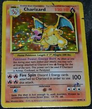 Holográficos Foil Charizard #4/102 Original Base Set Pokemon Comercial TCG