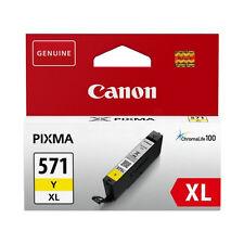 Canon CLI-571xl Yellow Ink for Pixma MG6850 MG6851 MG6852  MG6853