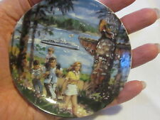 """Avon Canadian Portraits Plate Collection-West Coast Splendor- 2nd of 6-1987 4"""""""