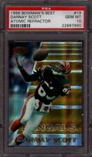 1996 BOWMAN'S BEST # 19 DARNAY SCOTT ☆REFRACTOR☆ BENGALS ☆POP 2☆ PSA 10 GEM-MINT