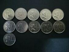 Philippine 1Piso coin yr 2007,2008,2009,2010,2011,2012,2013,2014,2015,2016&2017