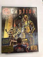 Captive Mindscape Commodore Amiga OVP/BOXED