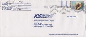 Bahamas -1997 Sea Shells, 60c King Helmet Commercial Cover to USA -Nassau Cancel